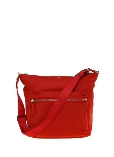 Ralph Lauren Lauren Ralph Lauren Kırmızı Hobo Çanta Kırmızı